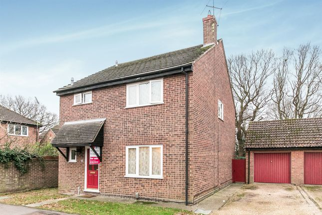 Thumbnail Detached house for sale in Harebell Close, Highwoods, Colchester