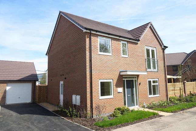 Thumbnail Detached house for sale in The Barlow, Stanley Mathews Way, Trentham Manor, Stoke-On-Trent