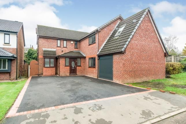 Thumbnail Detached house for sale in Dunham Close, Westhoughton, Bolton, Greater Manchester