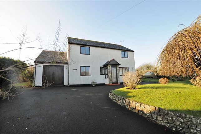 Thumbnail Detached house for sale in Lower Upton, Bude, Cornwall