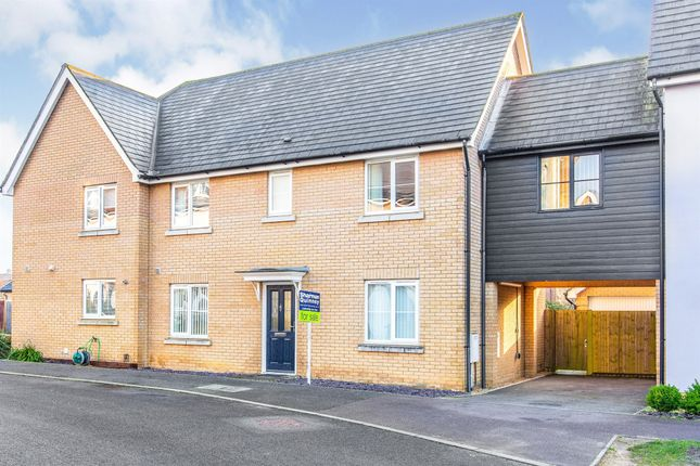 Thumbnail Semi-detached house for sale in Mayfield Way, Great Cambourne, Cambridge