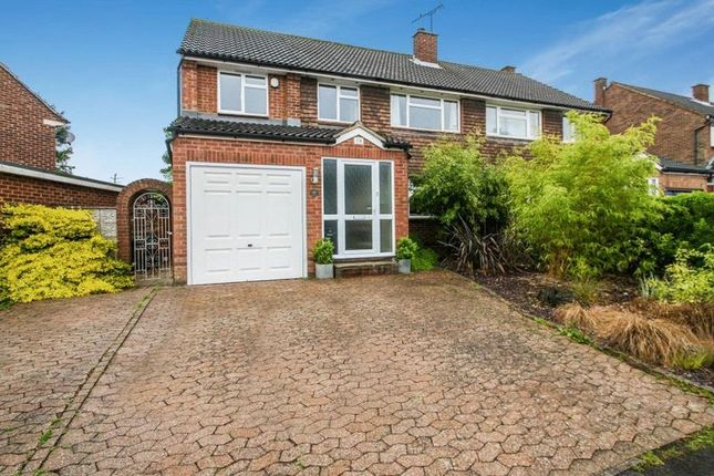 Thumbnail Semi-detached house for sale in Downs Park, Downley, High Wycombe
