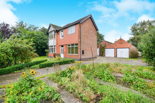 Thumbnail Detached house for sale in Moorgreen, Newthorpe, Nottingham