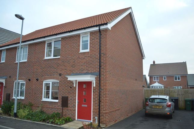 Thumbnail Semi-detached house to rent in Elm Street, Dereham