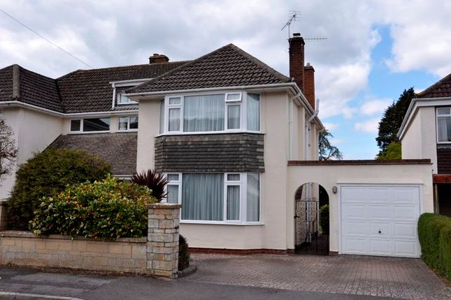 Semi-detached house for sale in Oakleigh Close, Backwell, Bristol