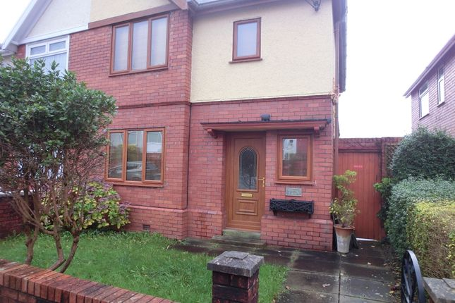 Thumbnail Semi-detached house for sale in Kelvin Road, Clydach, Swansea.