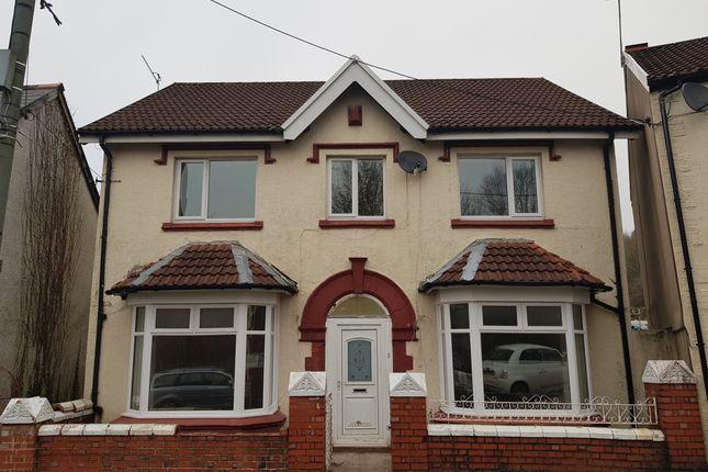 Thumbnail Detached house for sale in School Road, Troedyrhiw, Merthyr Tydfil