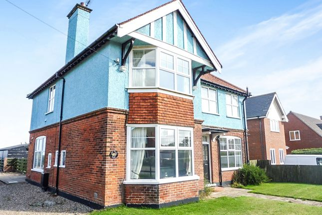 Thumbnail Detached house for sale in Sea View Road, Mundesley, Norwich