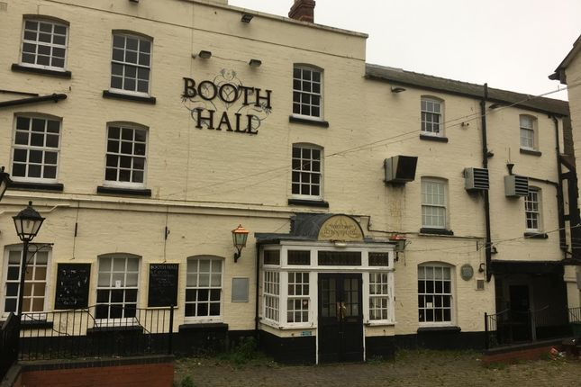 Thumbnail Property for sale in Booth Hall Hotel Pub, East Street, Hereford, Herefordshire
