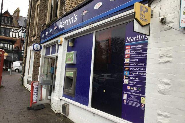 Thumbnail Retail premises for sale in Penarth, Vale Of Glamorgan