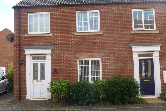 Thumbnail End terrace house to rent in Anvil Close, Chatteris