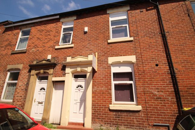 Thumbnail Terraced house to rent in Wildman Street, Preston