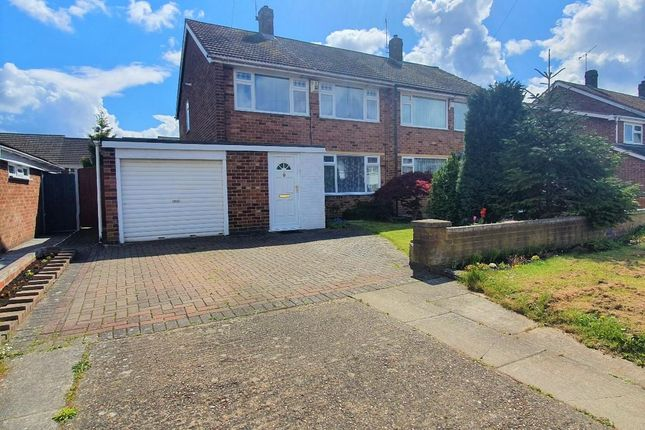Thumbnail Semi-detached house for sale in Orion Crescent, Potters Green, Coventry