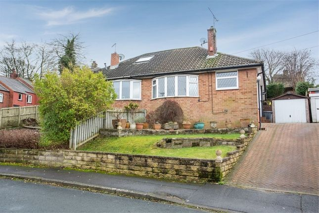 Thumbnail Semi-detached bungalow for sale in Mount Gardens, Cleckheaton, West Yorkshire