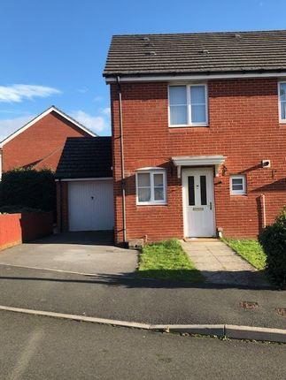 Thumbnail End terrace house to rent in Dol Y Dderwen, Ammanford