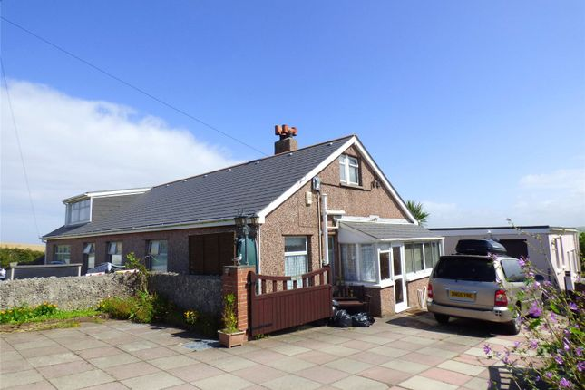 Thumbnail Detached bungalow for sale in Gwythian Way, Perranporth