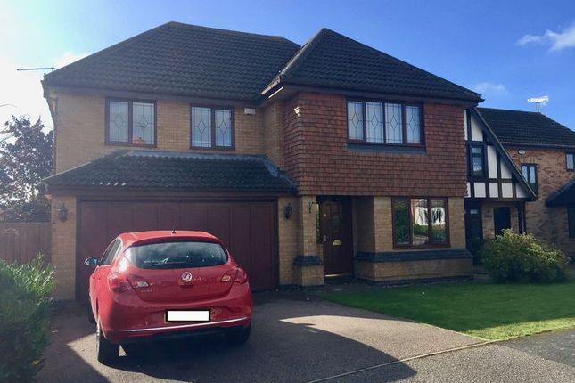 Thumbnail Detached house for sale in Harris Close, Wootton, Northampton