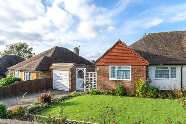 Thumbnail Semi-detached bungalow for sale in Downsview, Heathfield