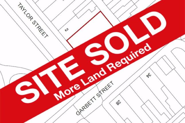 Thumbnail Land for sale in Taylor Street, Stoke-On-Trent