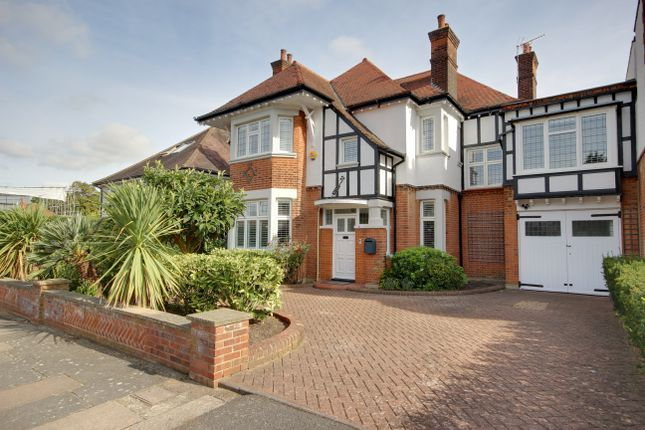 Thumbnail Link-detached house for sale in Branscombe Gardens, Winchmore Hill
