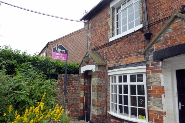 Thumbnail Cottage to rent in Albert Terrace, College Street, Sutton, Hull