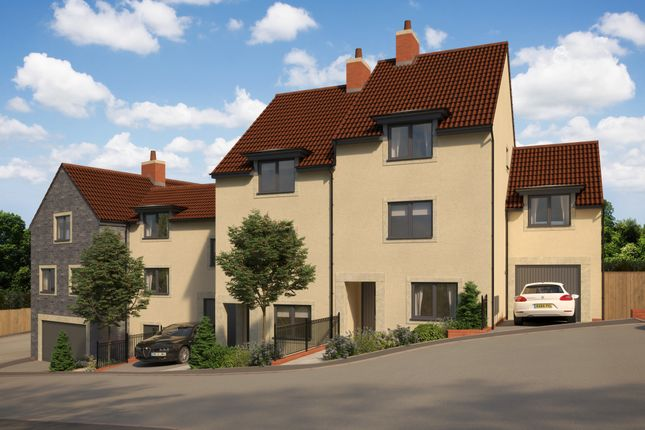 Thumbnail Town house for sale in Off Pesters Lane, Somerton, Somerset