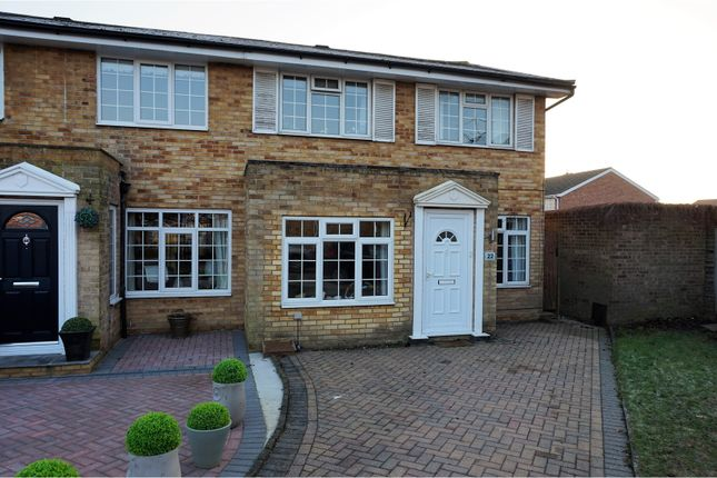Thumbnail Semi-detached house for sale in Wheatfield Close, Maidenhead