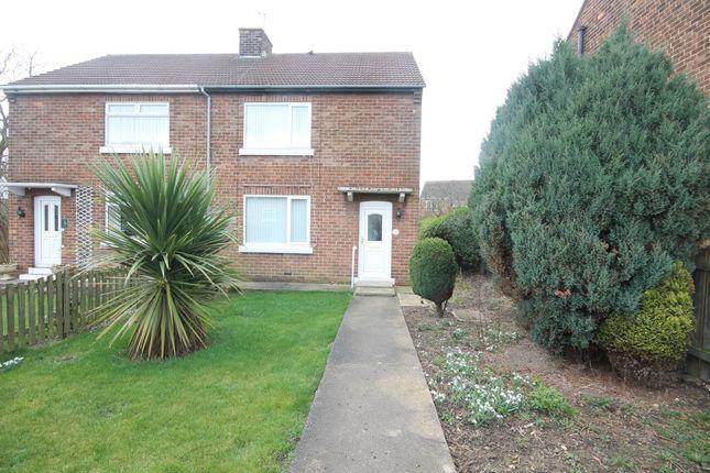 Thumbnail Semi-detached house for sale in Park Crescent, Stillington, Stockton-On-Tees