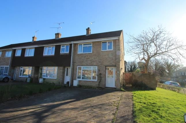 Thumbnail End terrace house for sale in Mytchett, Camberley, Surrey