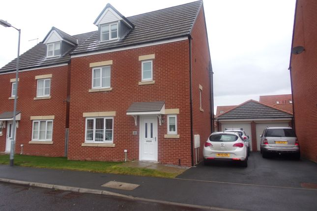 Thumbnail Detached house for sale in Blackhaugh Drive, Seaton Delaval, Whitley Bay
