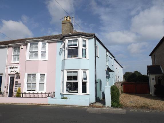 Thumbnail End terrace house for sale in Felpham Road, Felpham, Bognor Regis, West Sussex