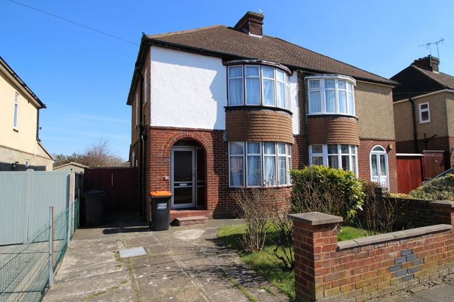 Thumbnail Semi-detached house to rent in Liscombe Road, Bedfordshire