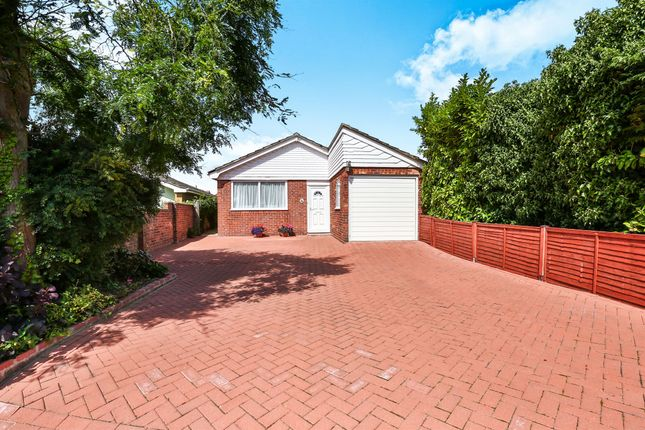 Thumbnail Detached bungalow for sale in Coronation Close, Hellesdon, Norwich