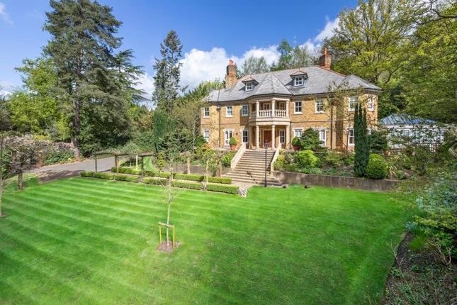 Thumbnail Detached house for sale in Woodlands Road West, Wentworth, Virginia Water