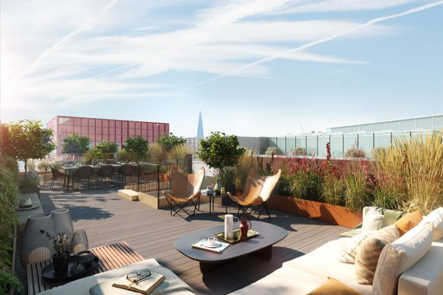 Thumbnail Flat for sale in Luma, 6 Lewis Cubitt Walk, King's Cross, London