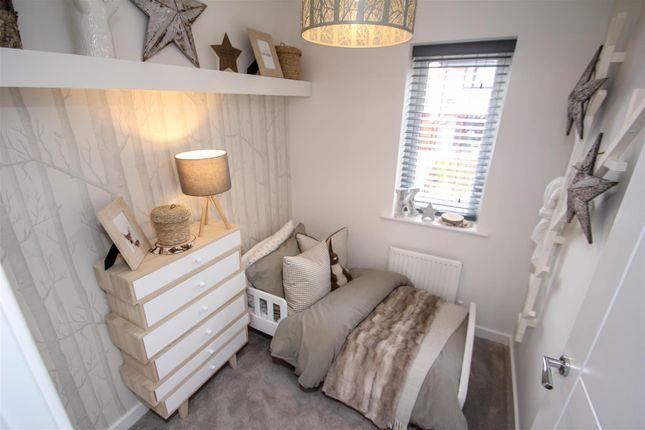 Bedroom Three of The Jasmine, Off Eaves Lane, Bucknall, Stoke-On-Trent ST2