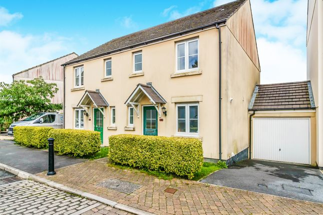 Thumbnail Link-detached house for sale in Buzzard Road, Whitchurch, Tavistock