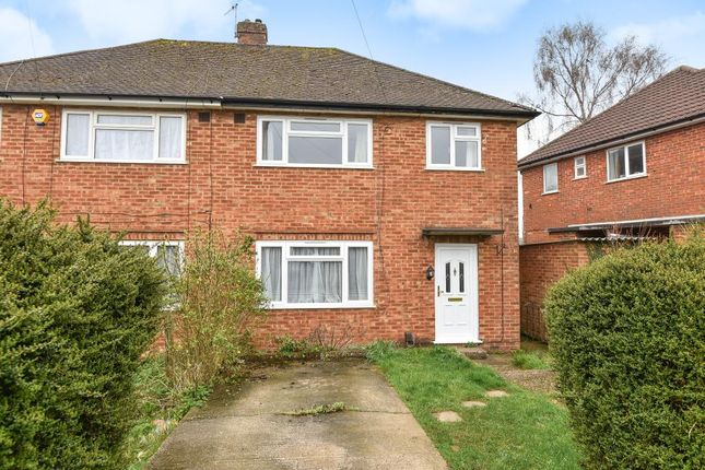 Thumbnail Semi-detached house to rent in Fraser Road, High Wycombe