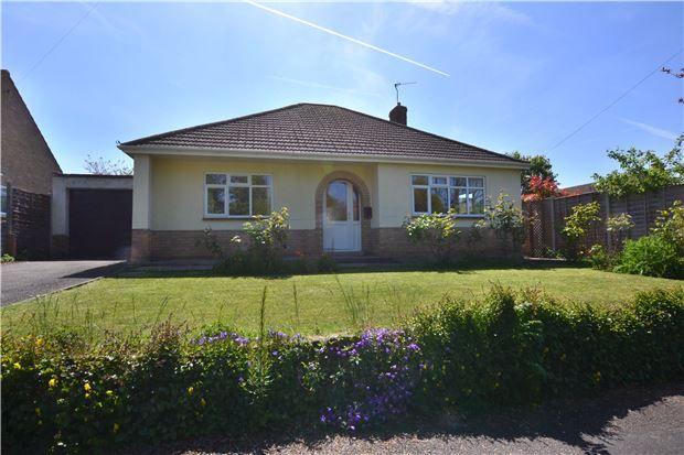 Thumbnail Detached bungalow for sale in 2 Croft Close, Churchdown, Gloucester