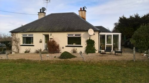 Thumbnail Detached bungalow for sale in Nairn, Moray