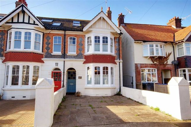 Thumbnail End terrace house for sale in Navarino Road, Worthing, West Sussex
