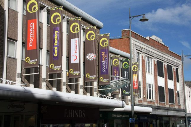 Retail premises to let in Queen Street Shopping Centre, Darlington