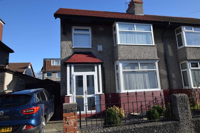 Thumbnail Semi-detached house for sale in Ben Nevis Road, Tranmere, Birkenhead