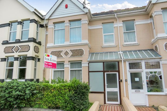 Terraced house for sale in Peverell Park Road, Peverell, Plymouth