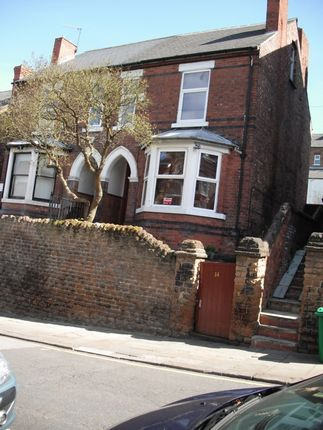 Thumbnail Terraced house to rent in Seely Road, Lenton, Nottingham