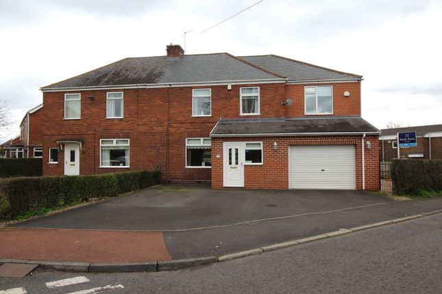 Thumbnail Semi-detached house for sale in West Avenue, Westerhope, Newcastle Upon Tyne