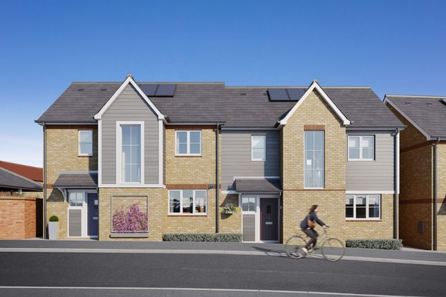 Thumbnail Semi-detached house for sale in Main Road, Broomfield Village, Chelmsford