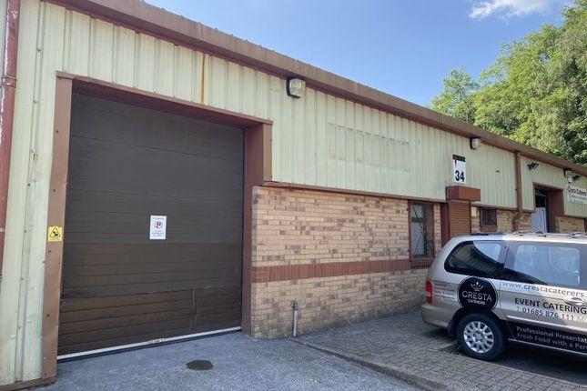 Thumbnail Industrial to let in Unit 34 Aberaman Park Industrial Estate, Aberdare