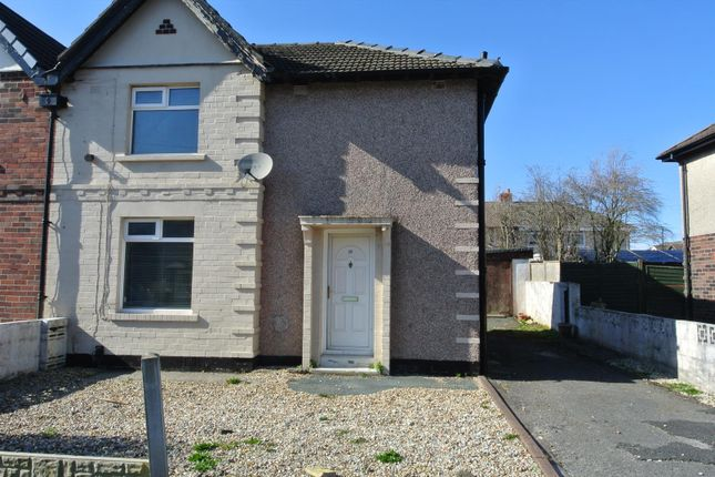 Thumbnail Semi-detached house to rent in Longlands Road, Lancaster