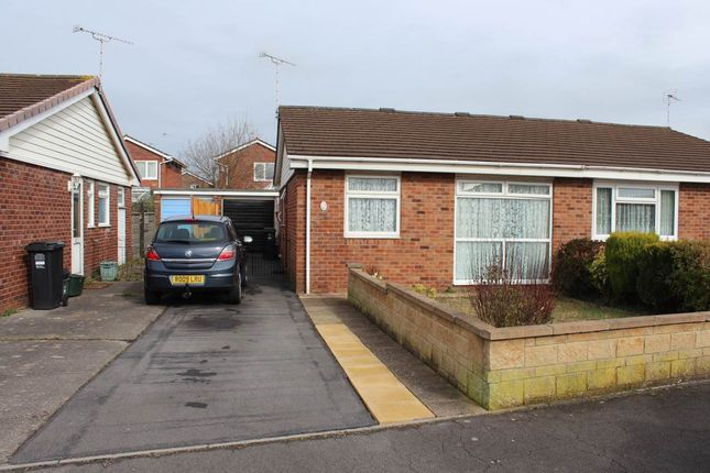 Thumbnail Semi-detached bungalow to rent in Coralberry Drive, Worle, Weston-Super-Mare